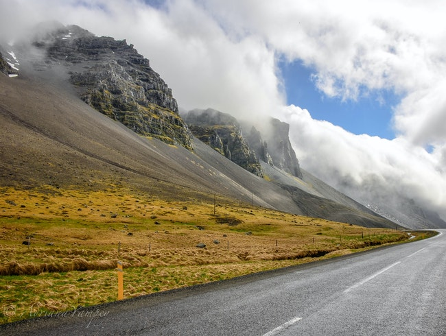 The drive toward Djúpivogur
