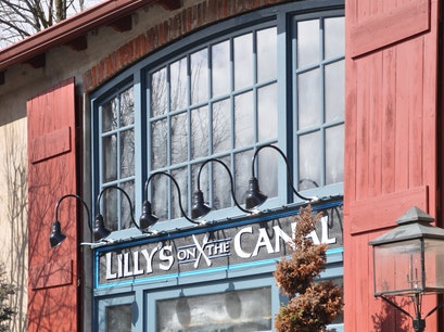 Lilly's On the Canal Lambertville New Jersey United States