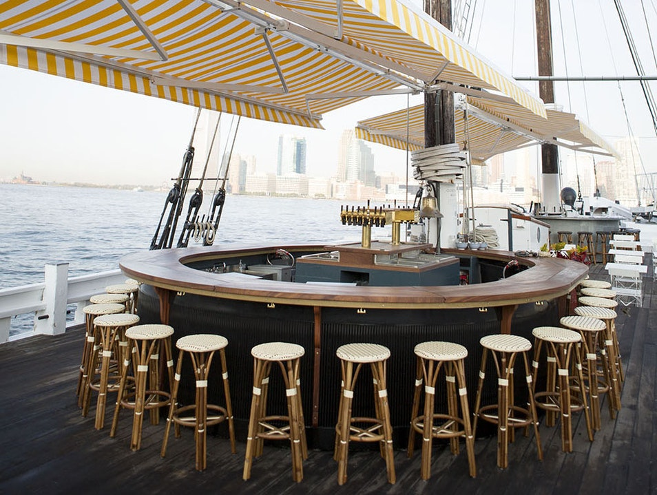 New York's Floating Oyster Bar New York New York United States