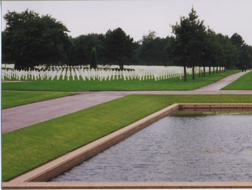 American Cemetery and Visitor's Centre Colleville-sur-Mer  France