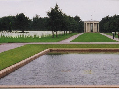 Omaha Beach American Cemetery Colleville Sur Mer  France