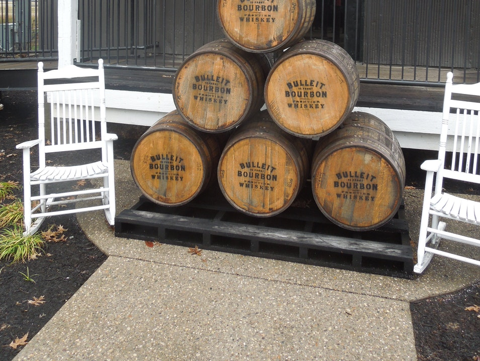 Bulleit Bourbon at Stitzel-Weller Distillery Shively Kentucky United States