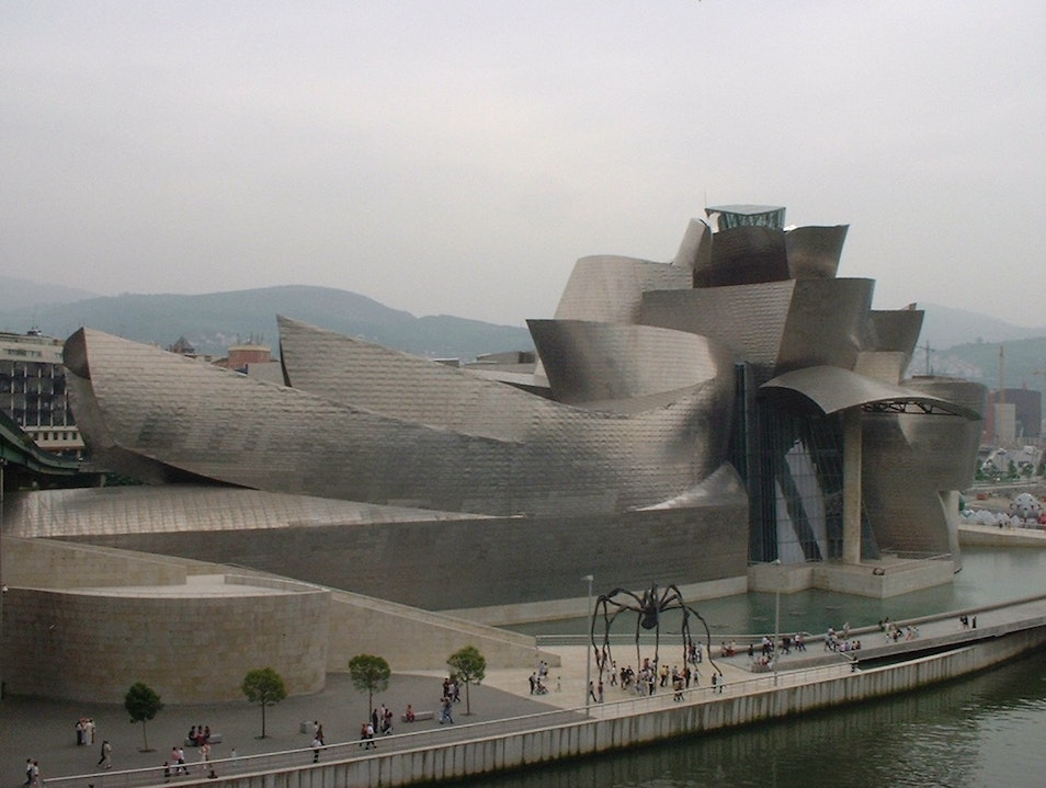 the Guggenheim Museum in Bilbao Bilbao  Spain