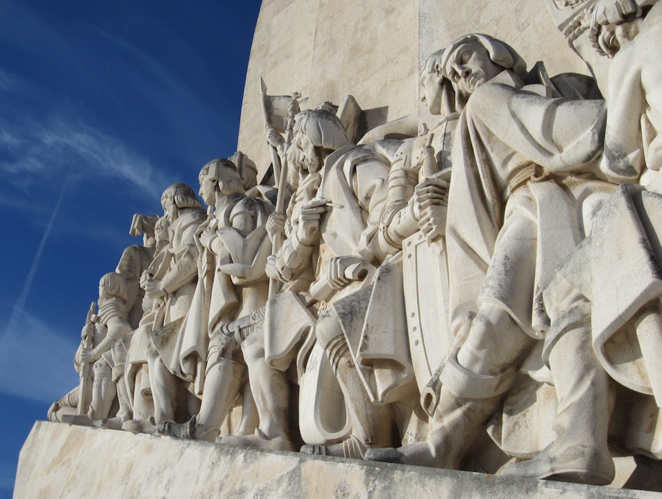 Monument to the Discoveries Lisboa  Portugal