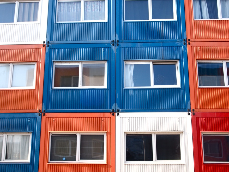 Cargo Container Condos Amsterdam  The Netherlands