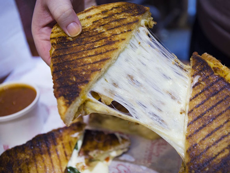 Grilled cheese taken to the next level Philadelphia Pennsylvania United States