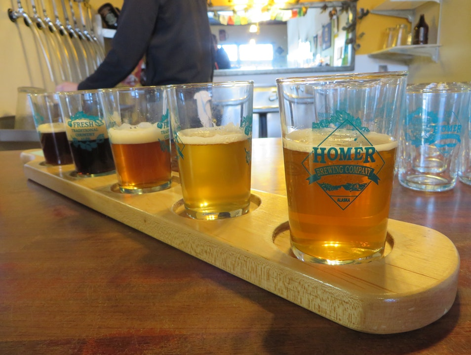 Fresh Brews (and Chai) in Homer