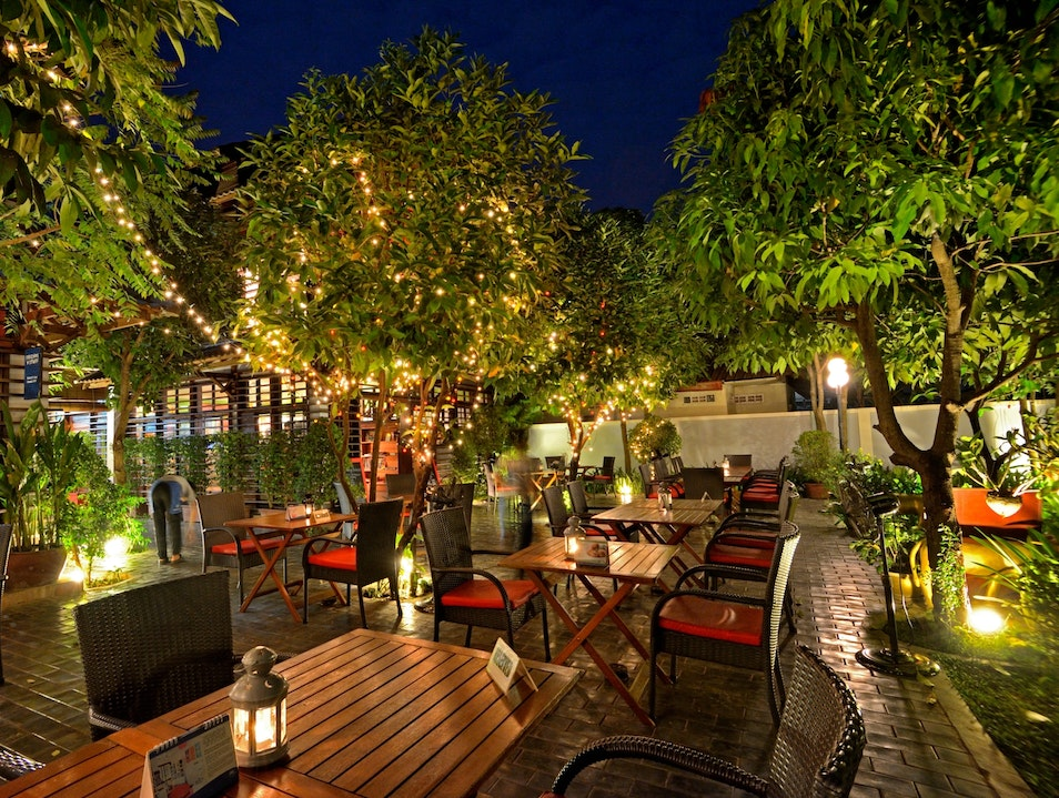Try creative Cambodian at this training restaurant Siem Reap  Cambodia