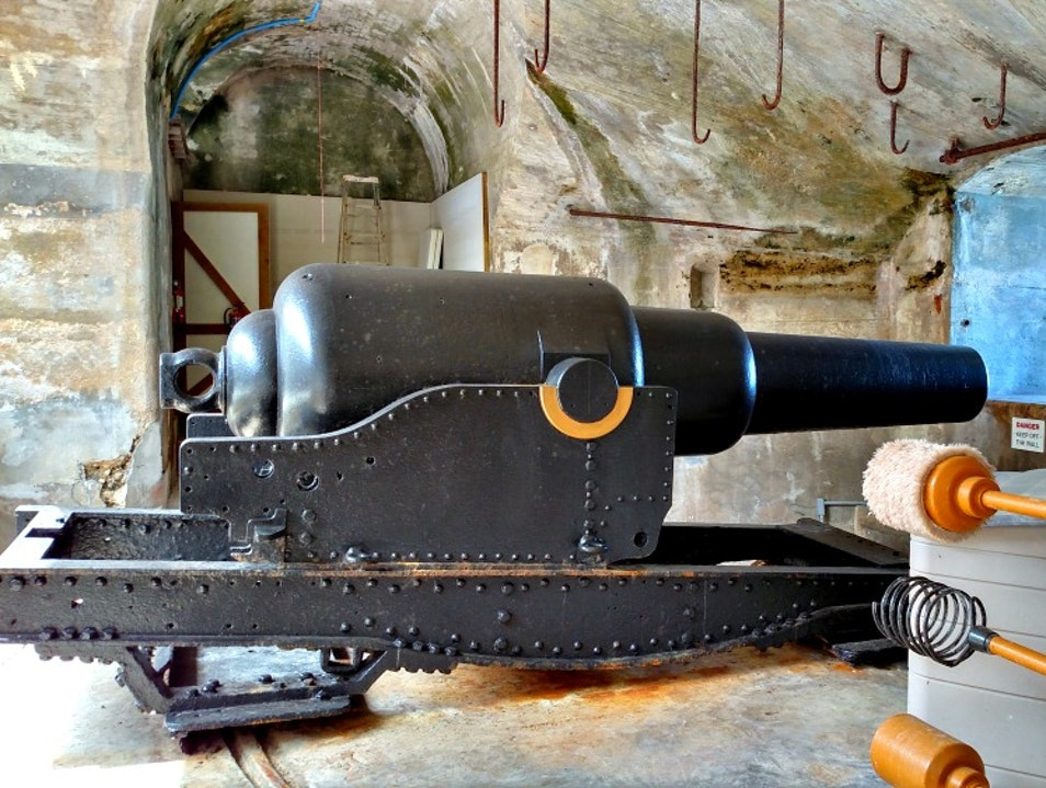 Bring Out the Big Guns at Fort St. Catherine Town Of St. George  Bermuda