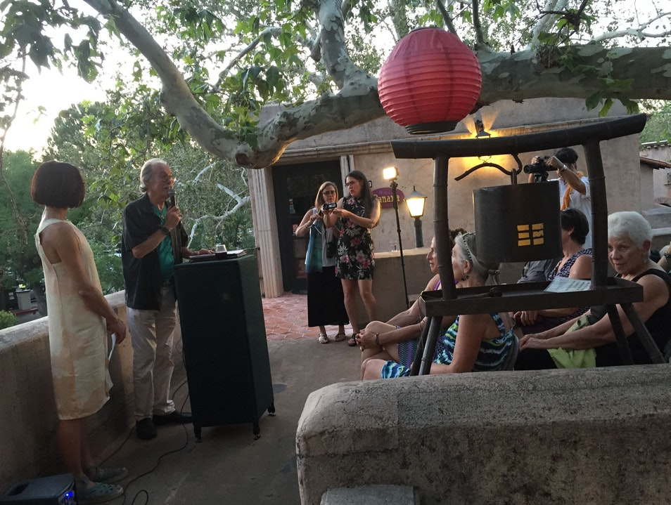 Poetry On the Porch at Honshin Fine Art in Sedona Sedona Arizona United States