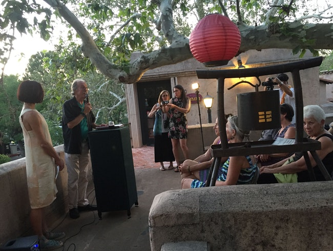 Poetry On the Porch at Honshin Fine Art in Sedona