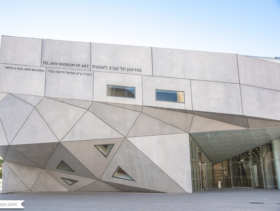 The renovated Tel Aviv Museum of Art Tel Aviv  Israel
