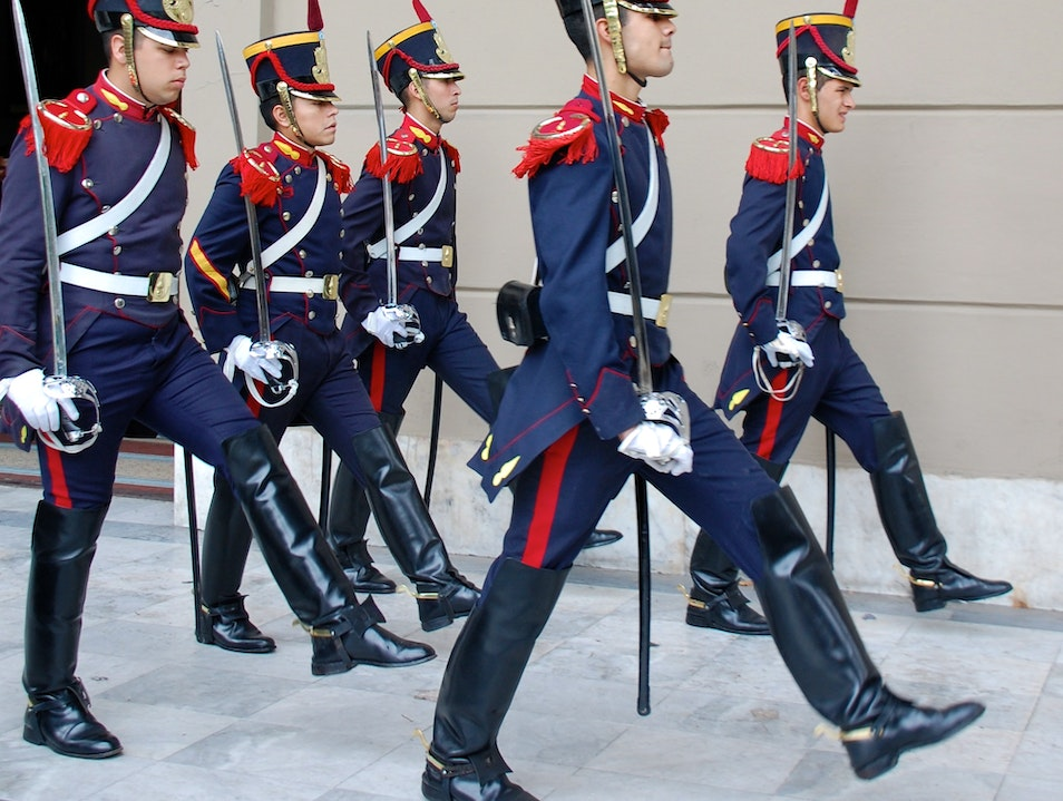 Chancing of the Guard Buenos Aires  Argentina