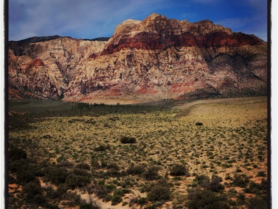 Hiking in Red Rock Las Vegas Nevada United States
