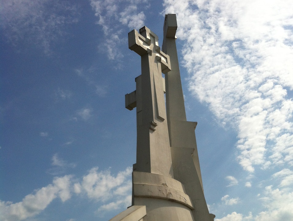 Hill of Three Crosses. Vilnius  Lithuania