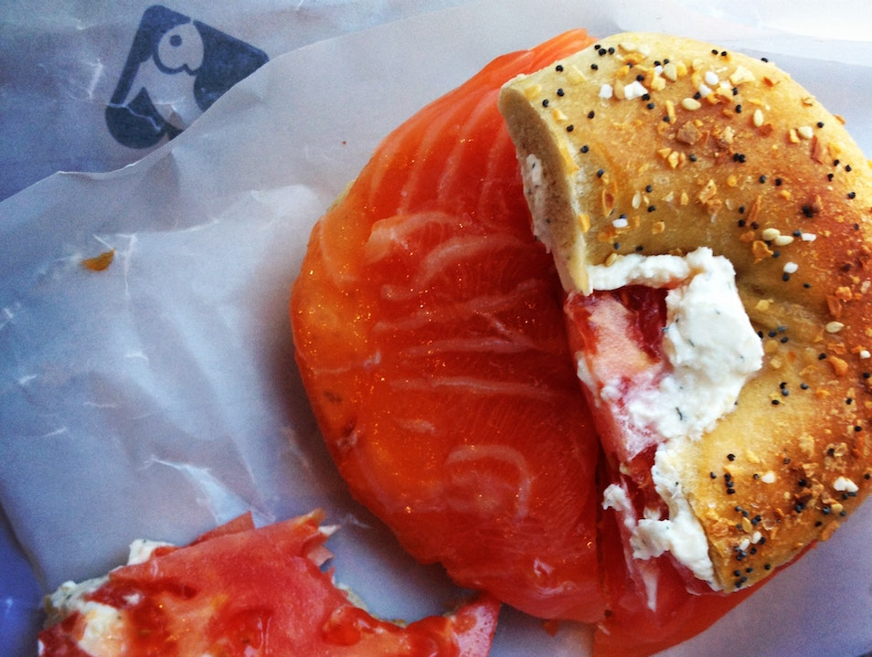 Best Bagels and Lox Downtown New York New York United States