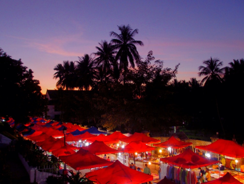 The Best Market In Southeast Asia Luang Prabang  Laos