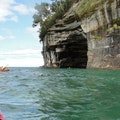 Sea Cave Shingleton Michigan United States