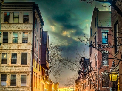 Beacon Hill Boston Massachusetts United States
