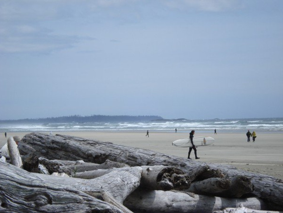 The Day I Learned to Surf Tofino  Canada