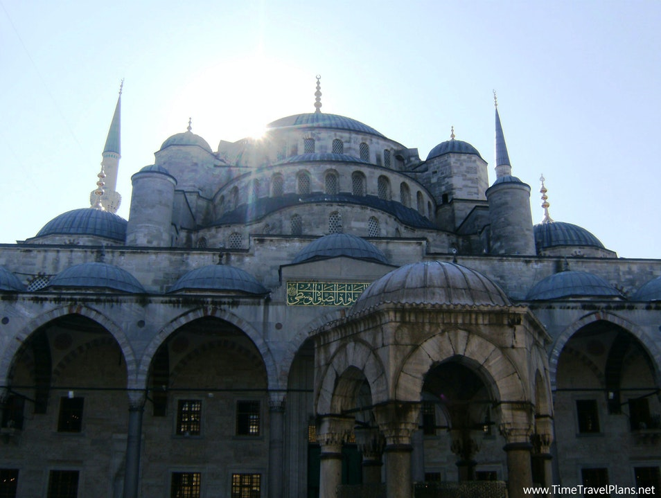 A Sacred Place Istanbul  Turkey