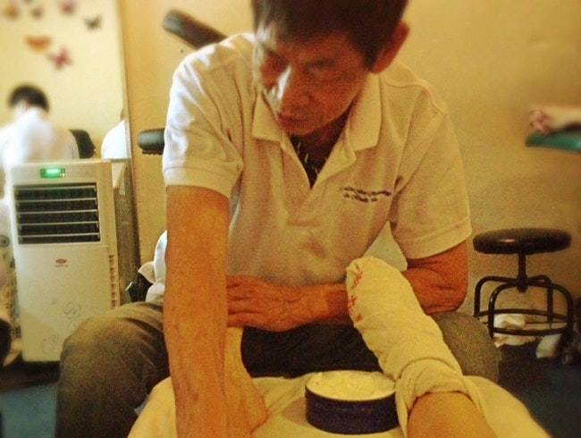 Foot reflexology: the real deal