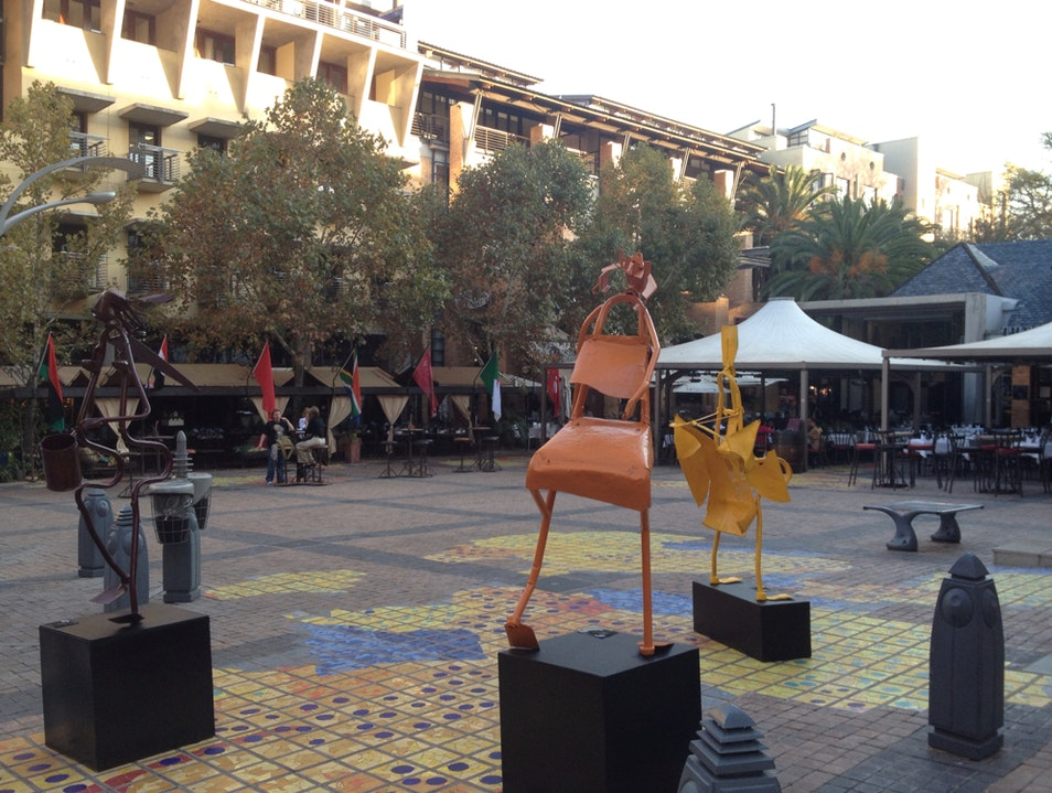 The Plaza at Melrose Arch Johannesburg  South Africa
