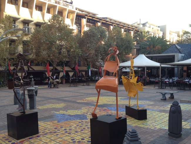 The Plaza at Melrose Arch