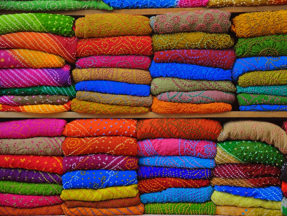 Authentic Shopping: Jaipur's Johri Bazaar Jaipur  India
