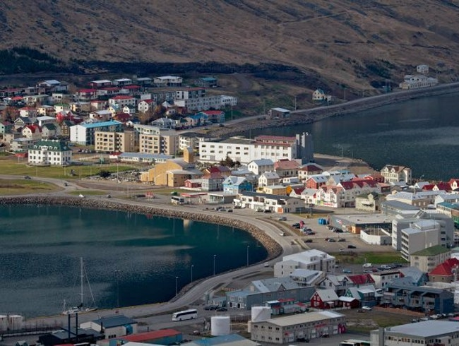 The Capital of the Most Remote Region of Iceland