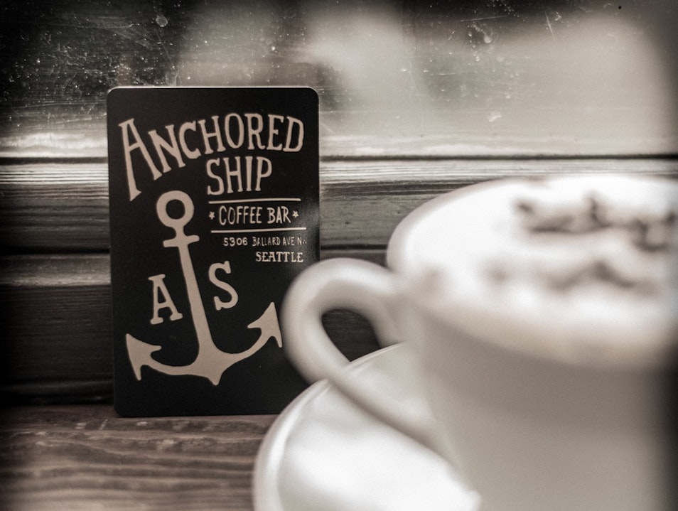 Anchored Ship: A Ballard Treasure in Seattle Seattle Washington United States