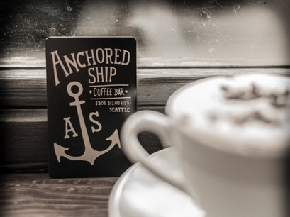 Anchored Ship Coffee Bar Seattle Washington United States