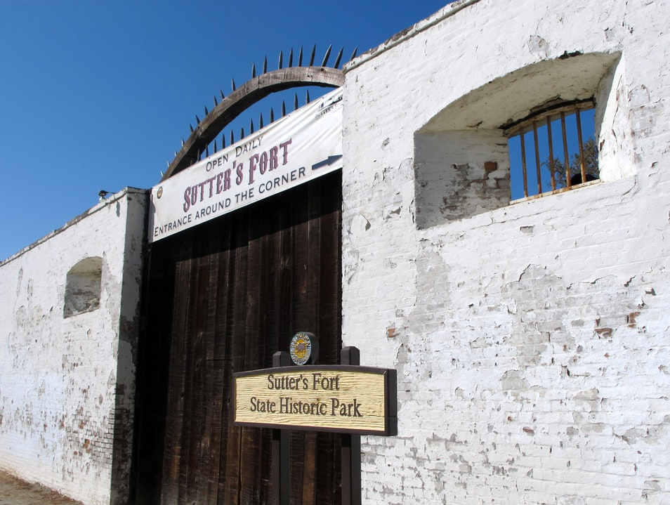 See Sacramento's History at Sutter's Fort Sacramento California United States