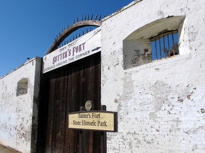 Sutter's Fort State Historic Park Sacramento California United States
