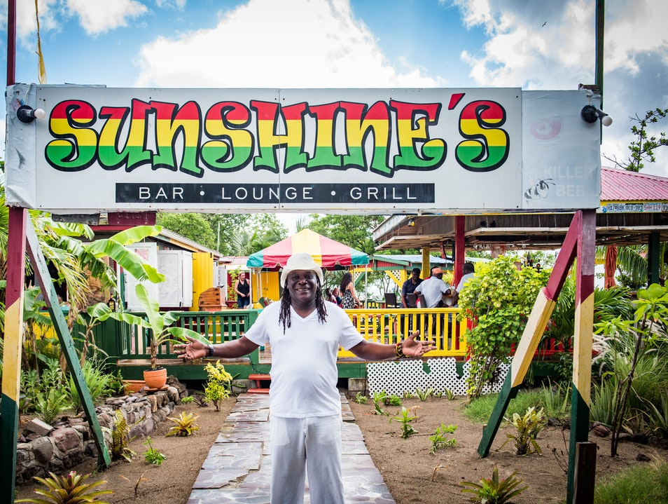 Sunshine's Restaurant Vaughans  Saint Kitts and Nevis