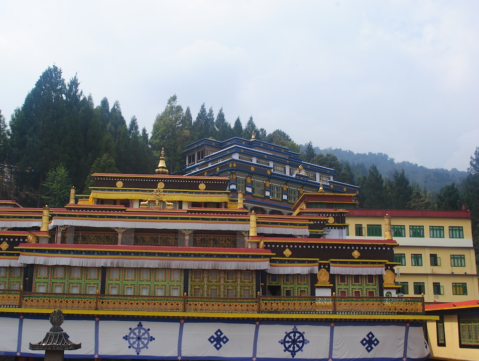 Freeze, time! Hello serenity :-) East Sikkim  India