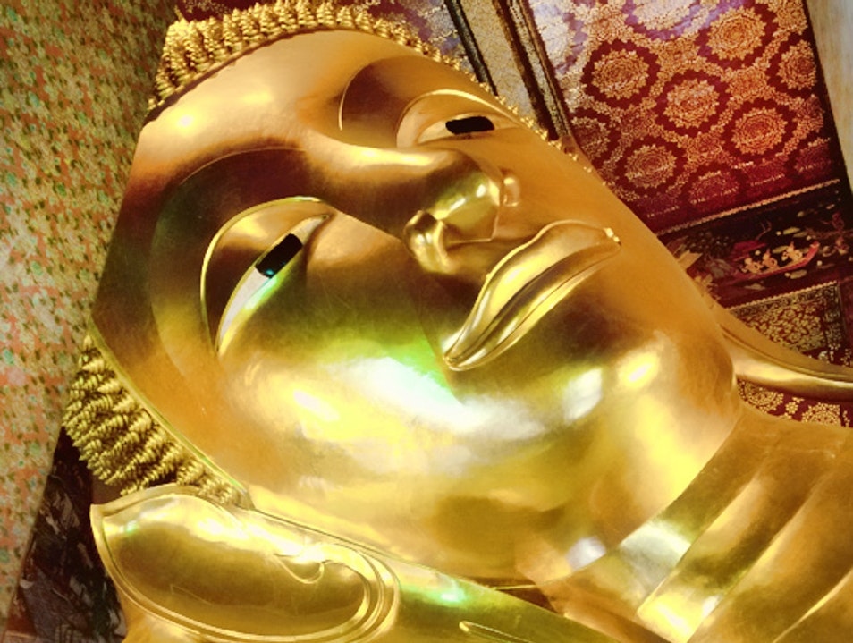 Temple of the Reclining Buddha, Bangkok Bangkok  Thailand