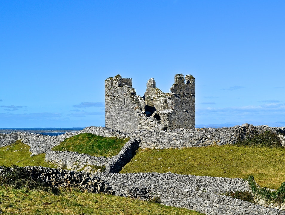 Ruins from the Past - O'Brien's Castle Inisheer, Co. Galway  Ireland
