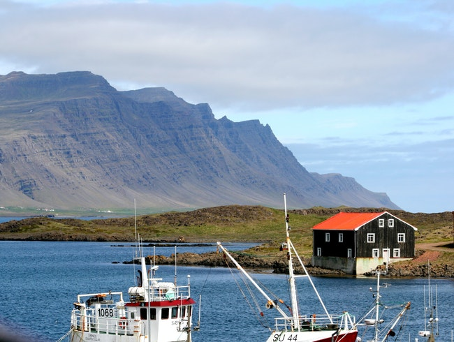 Fishing Hamlet in Eastern Iceland