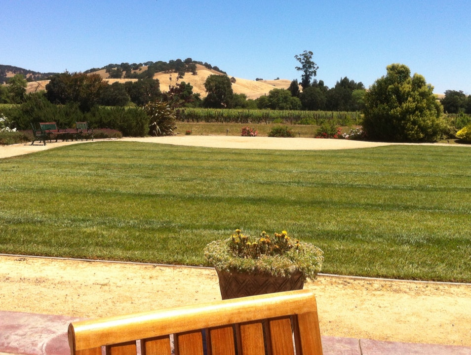 The Patio at Ledgewood Creek Winery Fairfield California United States