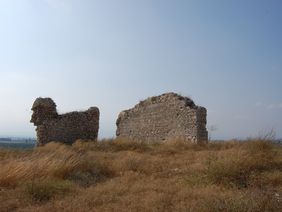 Visit the remains of a castle dating back to the Middle Ages