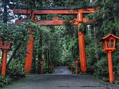 Hakone Shrine Hakone  Japan