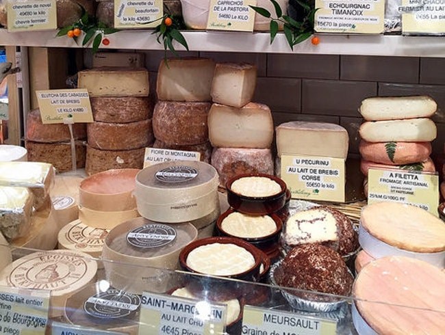 Where to Smell the Cheeses in Paris