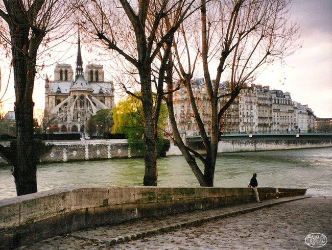 Spring solitude, Paris