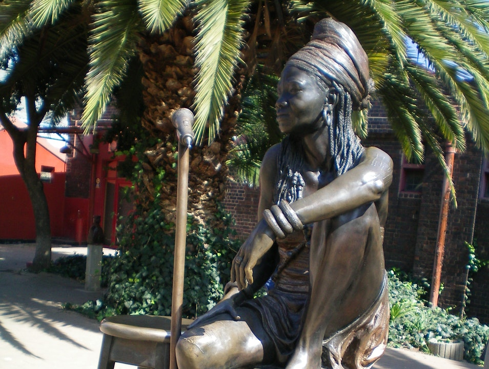 """Madonna of the Townships"" Johannesburg  South Africa"