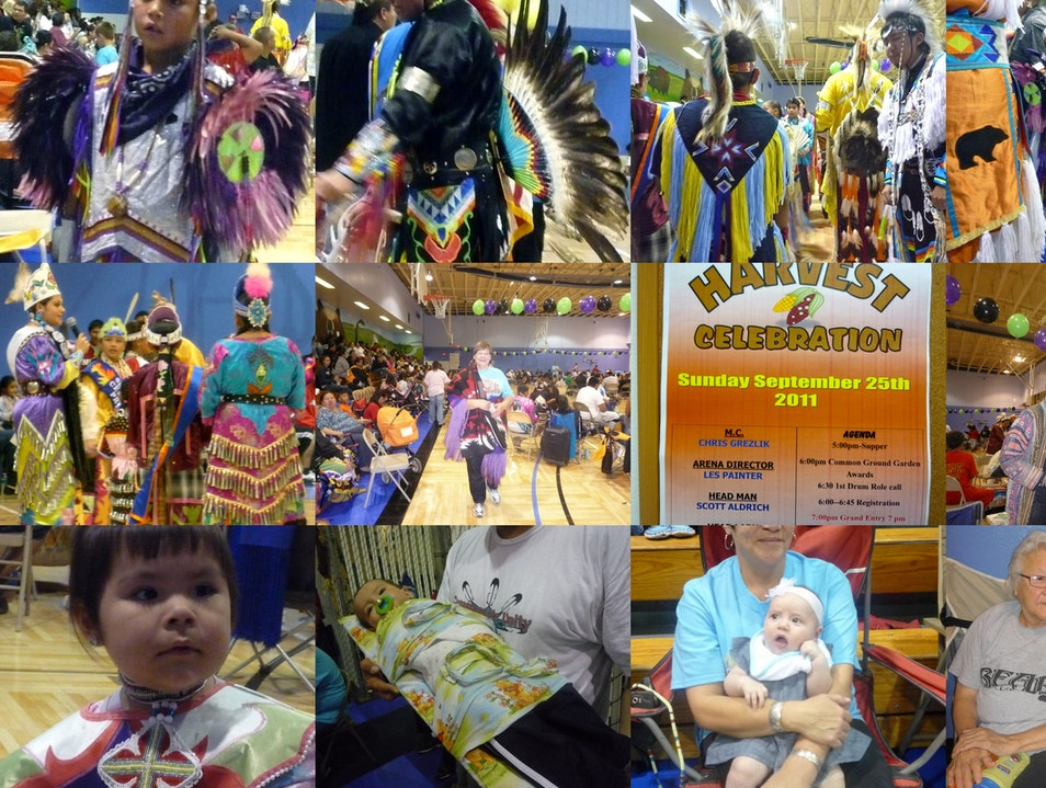 The Harvest Festival of HoCank Indians Winnebago Nebraska United States