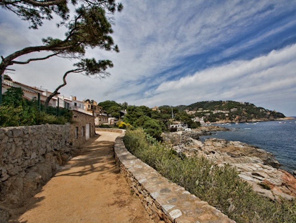 Spain's Camino Ronda Coastal Trail  Les Gavarres  Spain
