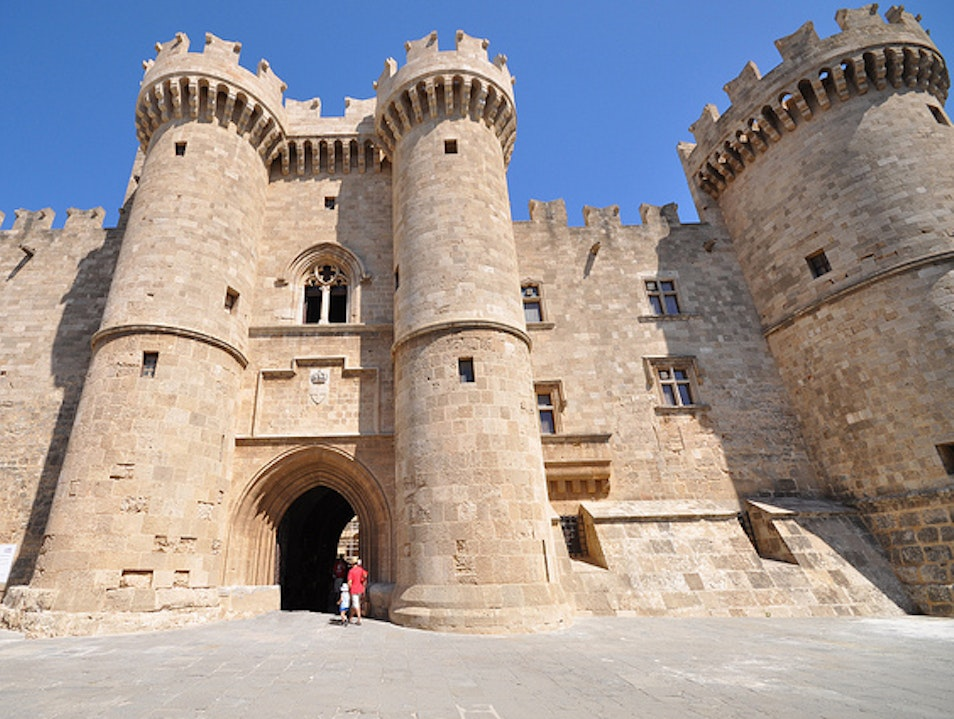 Palace of the Grand Master of the Knights of Rhodes Rhodes  Greece