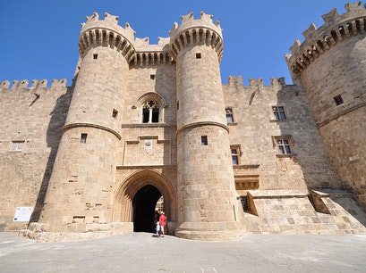 Palace of the Grand Masters of the Knights Rhodes  Greece