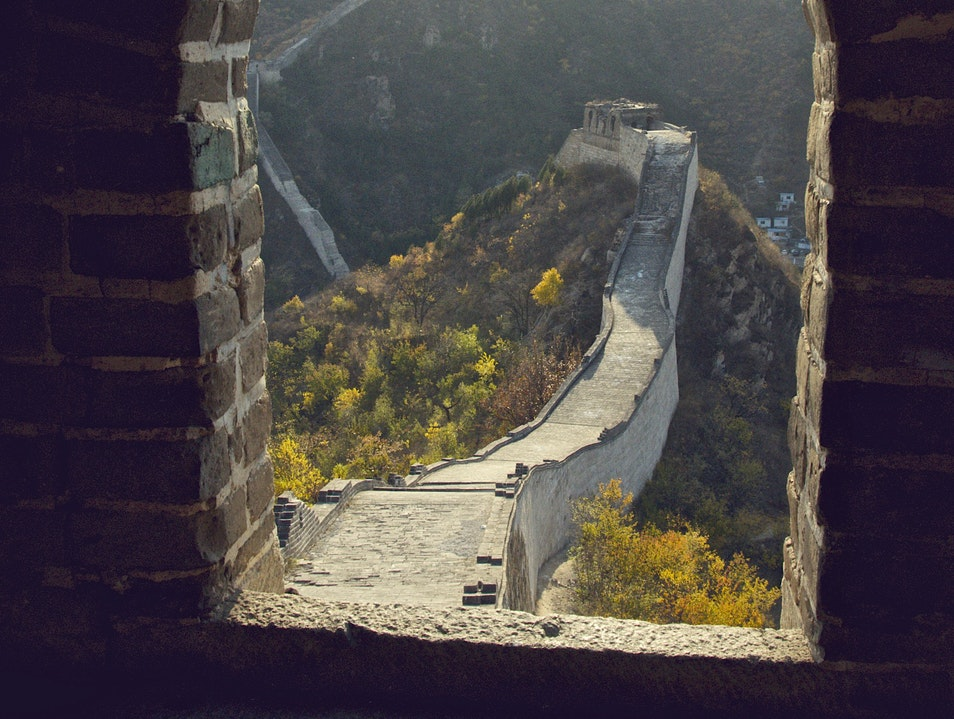 Huanghuacheng Section, Great Wall of China Beijing  China